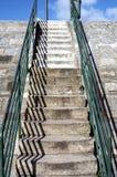 Escaliers hauts Photo libre de droits