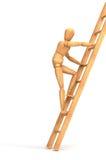 Escaliers hauts illustration de vecteur