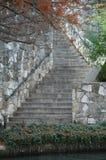 Escaliers historiques Images libres de droits