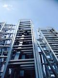 Escaliers industriels Image libre de droits