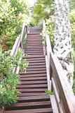 Escaliers jusqu'au dessus Images libres de droits