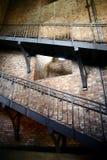Escaliers jusqu'au dessus de la tour Image libre de droits