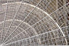 Escaliers métalliques ronds photographie stock