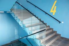 Escaliers modernes photos libres de droits