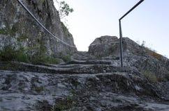 Escaliers mystiques au ciel Photographie stock libre de droits