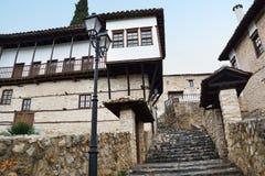 Escaliers pavés par pierre Images libres de droits