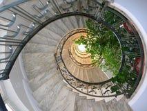 Escaliers ronds Images libres de droits