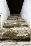 Escaliers rustiques Images libres de droits