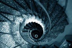 Escaliers spiralés Photos stock