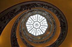 Escaliers spiralés Photographie stock