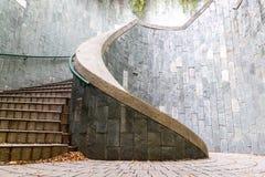 Escaliers spiralés Photos libres de droits