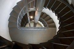 Escaliers spiralés images stock