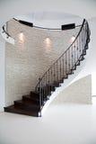 escaliers spiralés intérieurs Photo stock