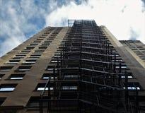 Escaliers sur le bâtiment Chicago Photo stock