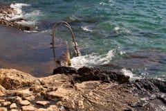 Escaliers vers la mer Photo libre de droits