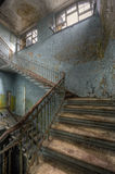 Escaliers vers le haut Images libres de droits