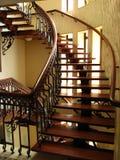 Escaliers vers le haut Photos libres de droits