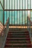 Escaliers vers le haut Photographie stock