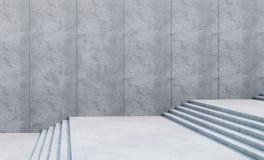 Escaliers vides dans la ville Image libre de droits