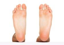 Escalonamiento del pie aislado Foto de archivo libre de regalías