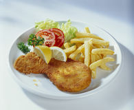 Escalope Royalty Free Stock Photography