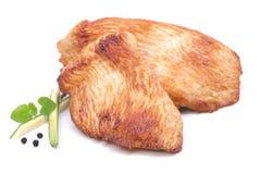 Escalope de la gallina de Turquía Imágenes de archivo libres de regalías