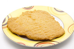 Escalope raw Stock Photos