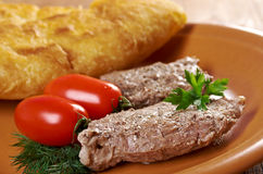 Escalope Royalty Free Stock Image