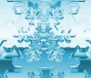 Escama de la nieve Fotografía de archivo libre de regalías