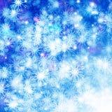 Escama de la nieve Foto de archivo libre de regalías