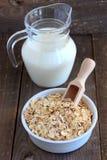 Escamas de la avena, de la cebada y del trigo Foto de archivo