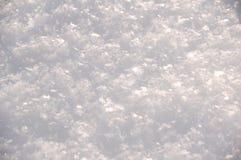 Escamas de la nieve Imágenes de archivo libres de regalías