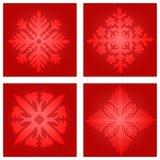 Escamas de la nieve foto de archivo libre de regalías