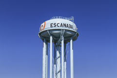 Escanaba Water Tower Stock Photography