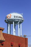 Escanaba Water Tower Royalty Free Stock Photo