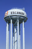 Escanaba Water Tower Royalty Free Stock Images