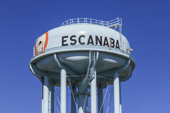 Escanaba Water Tower stock photos