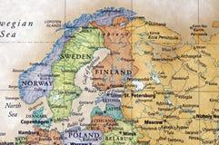 Escandinávia Fotografia de Stock