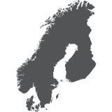 escandinávia Foto de Stock