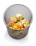 Escaninho de lixo Imagem de Stock