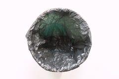 Escaninho de lixo vazio imagem de stock