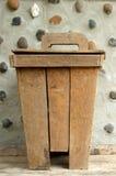 Escaninho de madeira Fotos de Stock