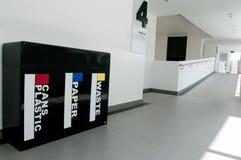 Escaninho de recicl Foto de Stock
