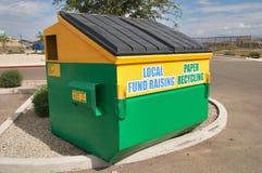 Escaninho de recicl Imagem de Stock Royalty Free