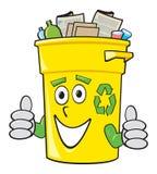 Escaninho de recicl dos desenhos animados ilustração do vetor