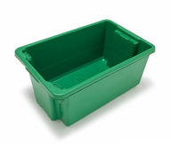Escaninho de recicl vazio Fotos de Stock Royalty Free