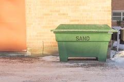 escaninho de reciclagem verde Fotografia de Stock