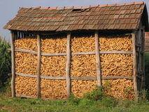 Escaninho do milho Imagem de Stock