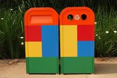 Escaninho dos desperdícios Foto de Stock