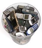 Escaninho dos desperdícios Imagem de Stock